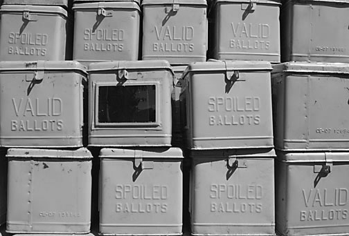 Ballot Boxes by Keith Bacongco (CC-BY-2.0)